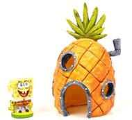 Penn Plax Spongebob & Pineapple Home Aquarium Decorations