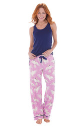 Cockatoo Jersey Scoop Neck Tank and Jersey Pant Set