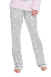Kittens & Bows Jersey Slim Pants