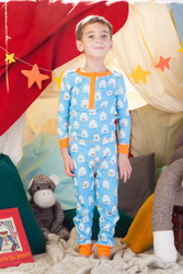 Goldfish Kids Rib Long John Set