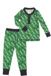 T Rex Kids Rib Long John Set