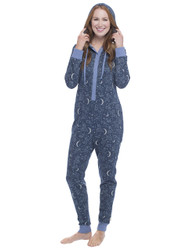 Constellation Sparkle Fleece Onesie (M01463)