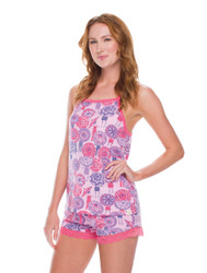 Cochella Umbrella Jersey Tank PJ Set (M01563)