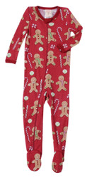 Red Gingerbread Thermal Blanket Sleeper
