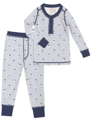 R2D2 Kids Long John PJ Set (MK01013)