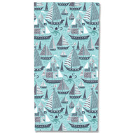 Sail Away Beach Towel