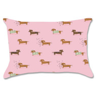Weiner Dogs Pillow