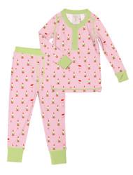 Pink Gnomes Knit Long John