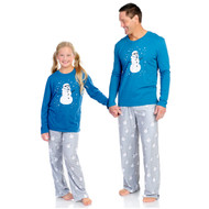 Stormtrooper Snowman Kid's Long Sleeve and Pants PJ Set