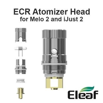 Eleaf ECR Atomizer Head for iJust 2/Melo/Melo 2/Melo 3/Melo3 Mini/Lemo 3
