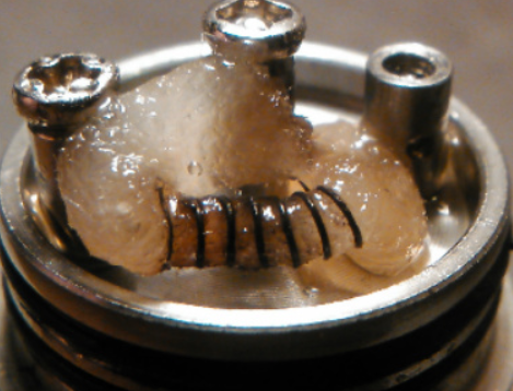 how to fix a burnt vape coil