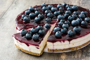 Gram's Blueberry Cheesecake