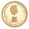 2015 Year of the Goat - Goat Family 0.5g Gold Tokelau Proof Coin - Obverse