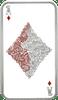 Ace of Diamonds, 1oz pure silver Tokelau Coin 2015