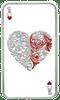 Ace of Hearts, 1oz pure silver Tokelau Coin 2015