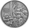 Monkey Family 1oz Silver Antique Tokelau Coin