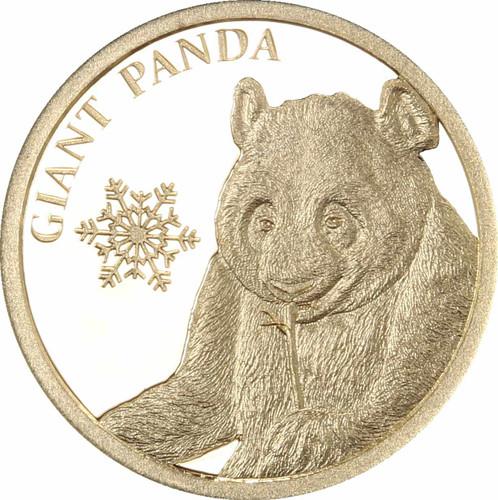 Giant Panda 0.5g Pure Gold Tokelau Coin