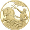 Poseidon 0.5g gold Tokelau coin