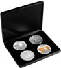 Poseidon Silver Typeset Tokelau Coins