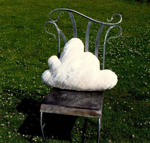 "Candi Andi 19"" & 25"" Crushed Velvet Cloud Pillows"
