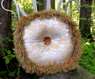 Forever Pearl Hand Formed Round Home Decor Pillow