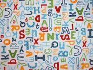 Alphabet - White
