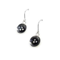 seed pod dangle earrings