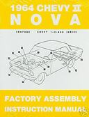 1964 NOVA/SS/CHEVY II FACTORY ASSEMBLY MANUAL