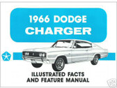 1966 66 DODGE CHARGER ILLUSTRATED FACTS