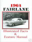 1964 FORD FAIRLANE FACTS & FEATURE MANUAL