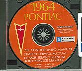 1964 PONTIAC GTO/ TEMPEST SHOP/BODY MANUAL ON CD