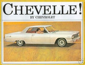 1964 CHEVELLE/ MALIBU SS SALES BROCHURE