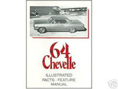 1964 64 CHEVROLET CHEVELLE ILLUSTRATED FACTS
