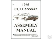 1965 65 CUTLASS/442 ASSEMBLY MANUAL
