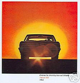 1964 PONTIAC GTO SALES BROCHURE