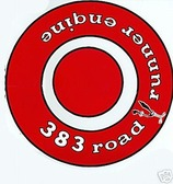 1968 1969 1970 ROAD RUNNER 383 AIR CLEANER DECAL