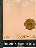 1964 64 DODGE DART/330/440 SERIES SHOP MANUAL