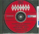1962 PONTIAC TEMPEST SHOP/BODY MANUAL ON CD
