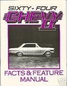 1964 64 CHEVROLET NOVA/ SS ILLUSTRATED FACTS