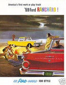 1959 FORD RANCHERO SALES BROCHURE