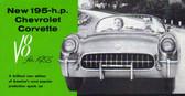 1955 CORVETTE SALES BROCHURE