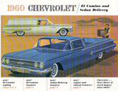 1960 EL CAMINO & SEDAN DELIVERY SALES BROCHURE