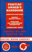1935 PONTIAC MANUAL-SIX & DELUXE SIX
