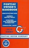 1935 PONTIAC MANUAL-EIGHT CYLINDER