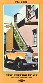 1931 CHEVROLET PASSENGER CAR SALES BROCHURE