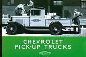 1931 CHEVROLET PICK-UP TRUCK SALES BROCHURE