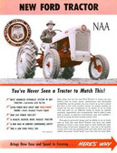 1953 54 55 FORD TRACTOR NAA SALES BROCHURE