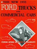 1933 FORD TRUCKS & COMMERICAL CARS SALES BROCHURE-75 HP V-8 & 50HP 4-CYLINDER
