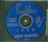 1948 CADILLAC SHOP/BODY MANUAL ON CD