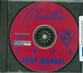 1949 CADILLAC SHOP/BODY MANUAL ON CD